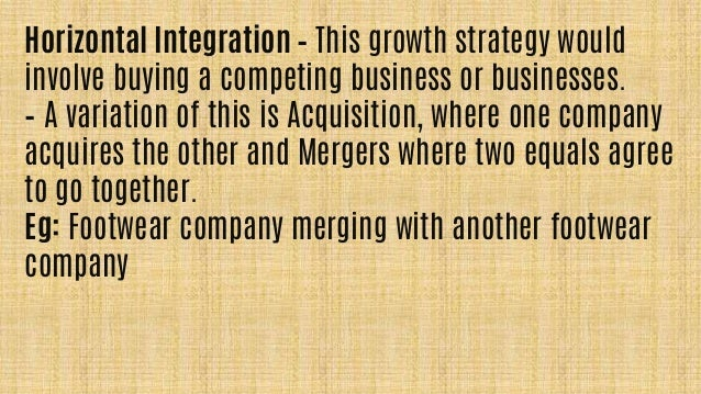 verizon wireless horizontal and vertical strategies Competitive effects  horizontal mergers,  vertical mergers involve firms in a buyer-seller relationship — for example,.