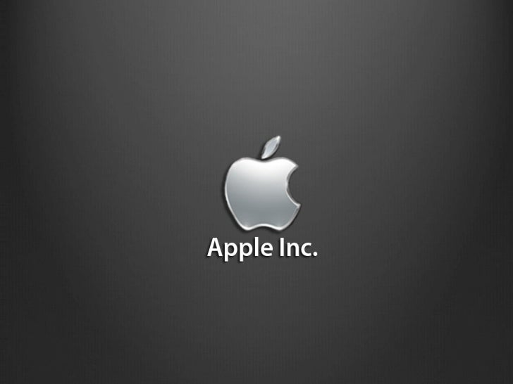 Strategic management presentation apple inc for Power point templates for mac