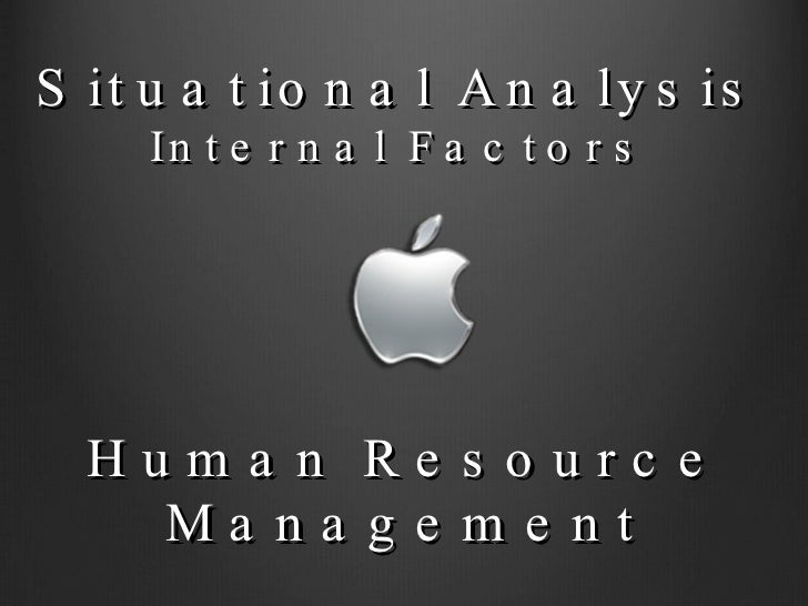 strategic management presentation apple inc  human resource management situational