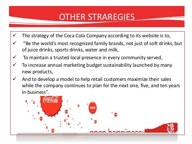Business plan on coca-cola products dealership