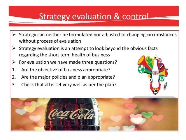 intensive strategies of coca cola