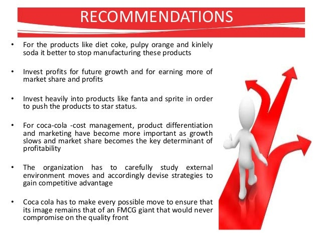 Strategic management of coca cola India for BMS students