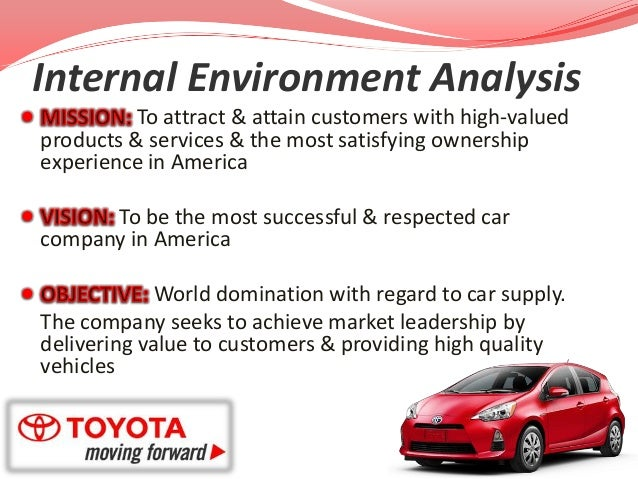internal company environment analysis Foundation for internal analysis1 if you ask a business person why their firm does well while others do poorly second, encourage a learning environment in your.