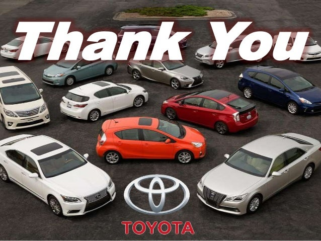 Toyota case study strategic management