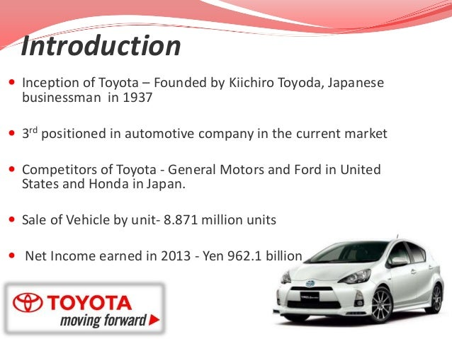 an analysis of toyota