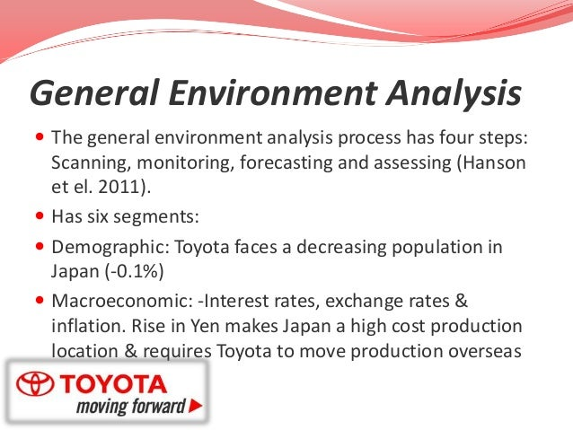 demographic environment toyota
