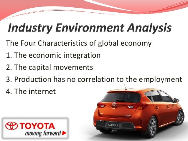 toyota motor study Main problem: toyota motor manufacturing, usa (tmm) is deviating from the standard assembly line principle of jidoka in an attempt to avoid expenses incurred from.