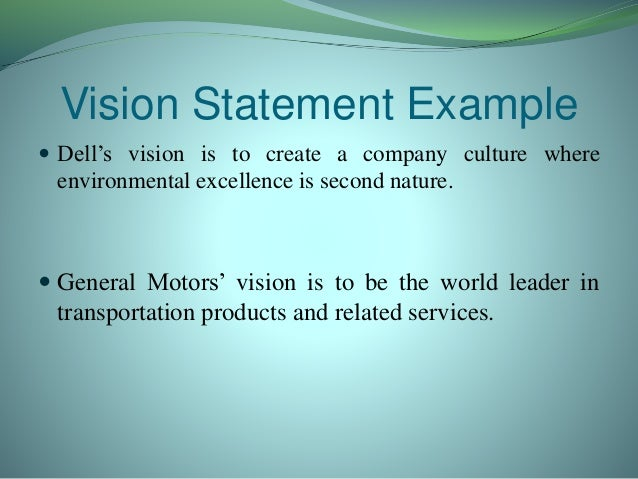Dell Mission Statement Evaluation