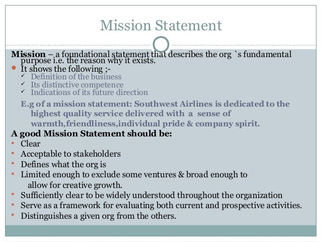Strategic management 1 notes nust zimbabwe for Ford motor company mission statement
