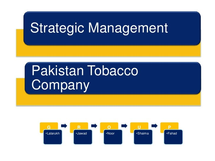 an analysis of the issue of tobacco industry