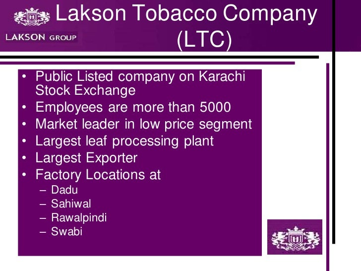 an analysis of big tobacco companies Big tobacco makes its initial bid for the cannabis market  late last month, a subsidiary of uk-based tobacco giant imperial brands (nasdaqoth:imbby), the company behind the kool and winston.