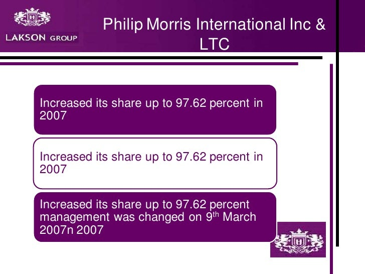 Strategy at philip morris