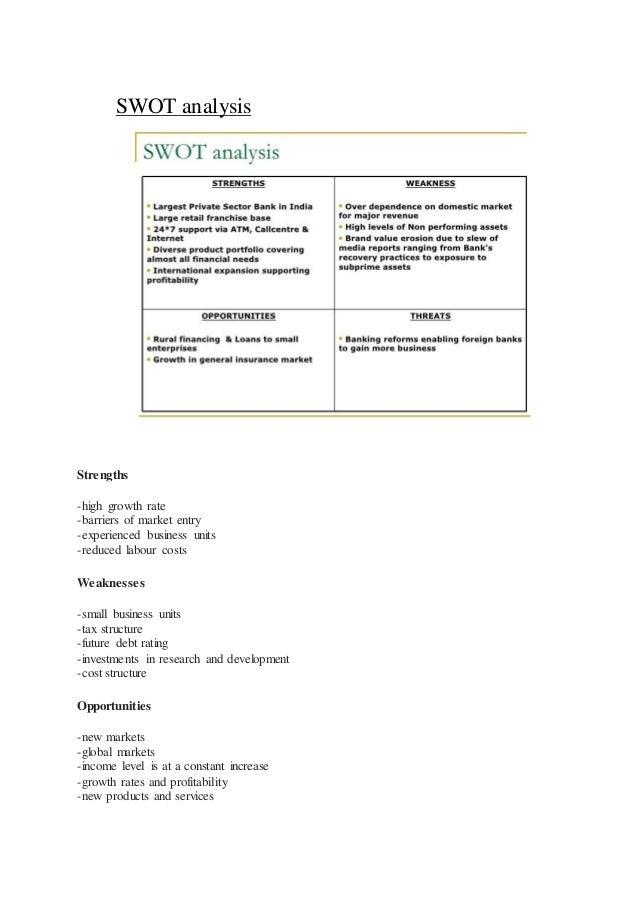 ICICI Bank SWOT Analysis, Competitors & USP