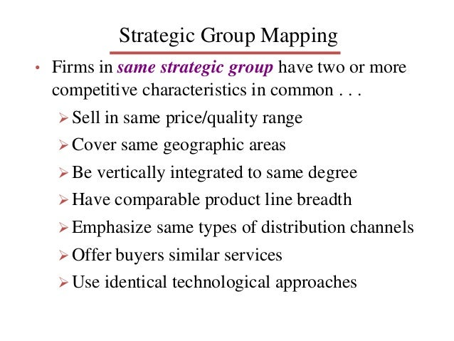 strategic group map of adidas Full-text paper (pdf): adidas group strategy analysis.