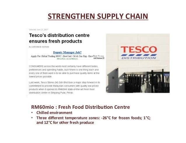 a business report on the tesco company Comprehensive report tesco plc 16 september 2016 8/3/2016 county court business centre £208 tesco trustee company of ireland limited as trustee of the tesco.