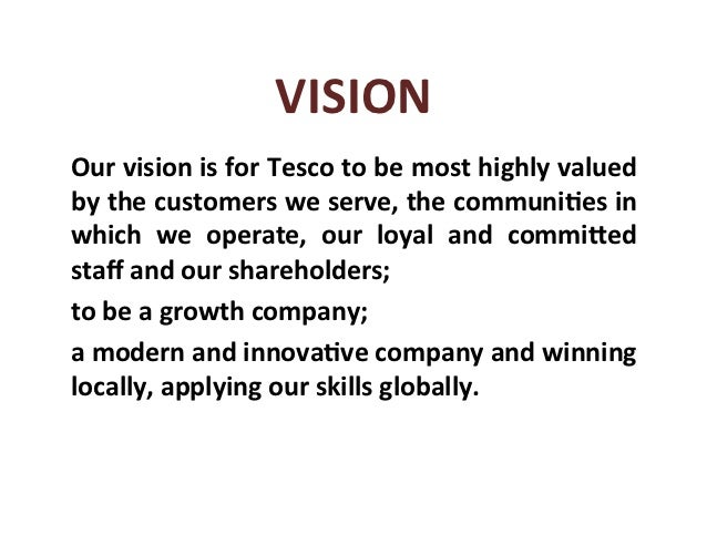 tesco key success factor Tesco occupies a unique place in british retail,  the introduction of the tesco clubcard is the single most significant factor in the success of the company,.