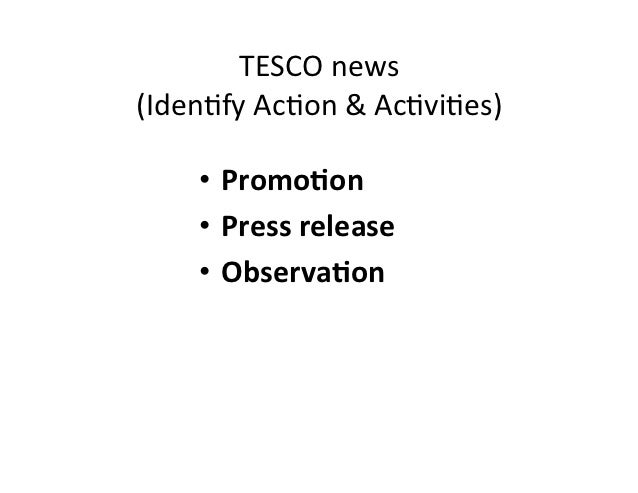 tesco strategic direction With respect to the international expansion plan, assumption is made that tesco  will start its operations in.