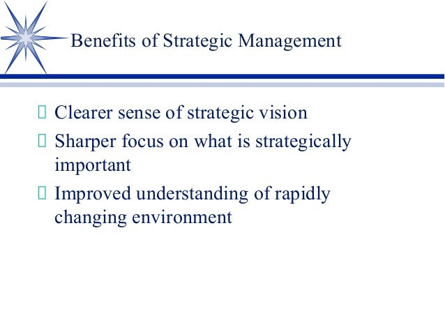 strategic management ppt Strategic management at chicago booth emphasizes an interdisciplinary approach involving psychology, sociology, and economics to develop analytical frameworks that examine the strategic.