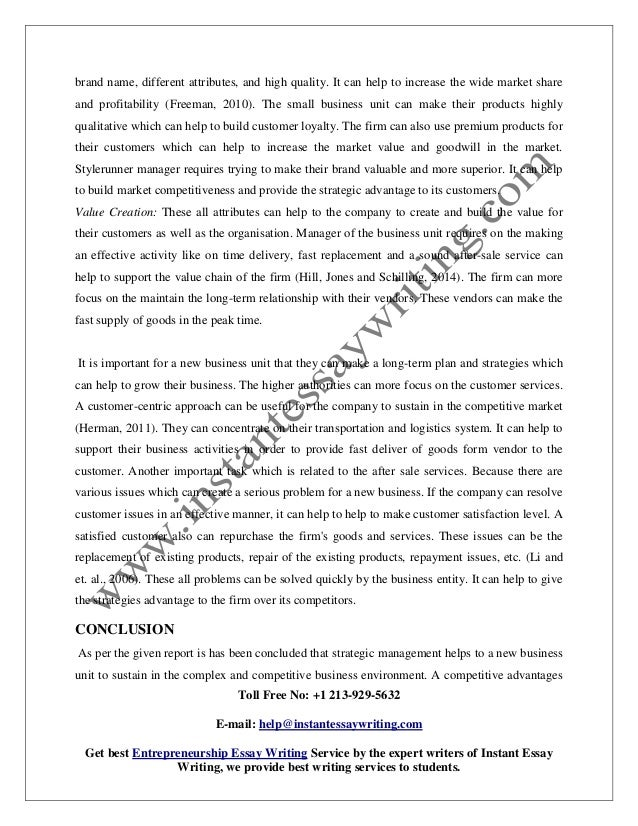 sample report on strategic management practices by instant essay writ   7