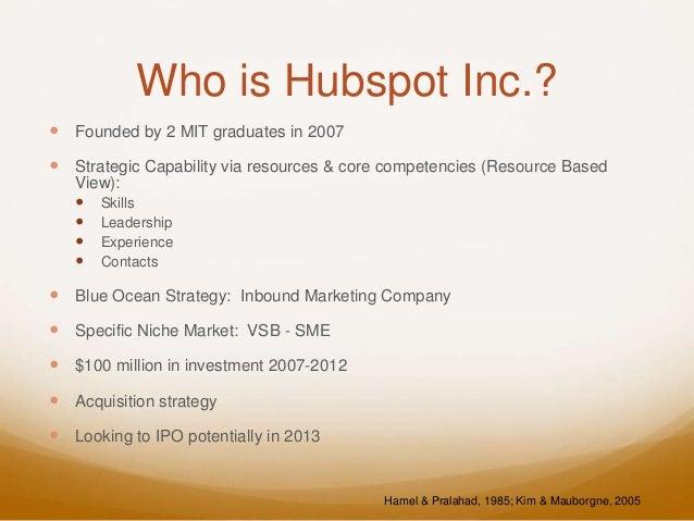 Strategic Analysis of Hubspot Inc. Slide 3