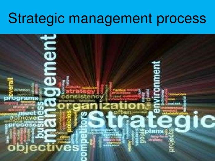 Strategic management process<br />