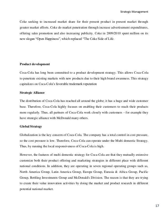 strategic management project report finallllllllllllllllllll strategic management