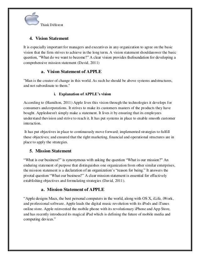 Personal Leadership Vision Statement Examples Eczalinf