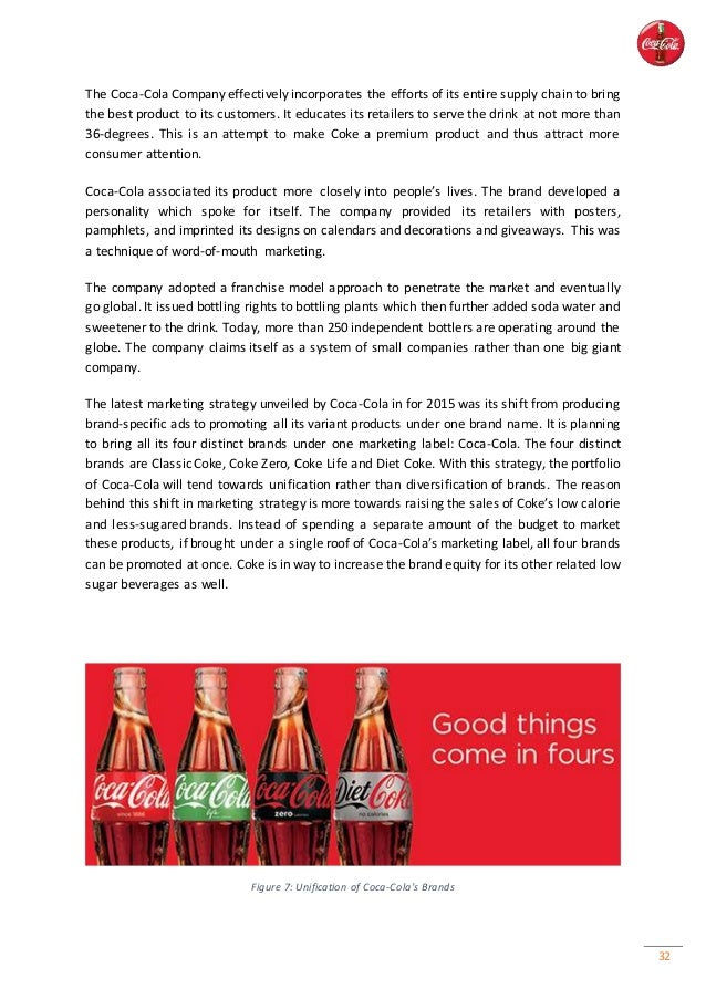 a report on the evolution of the coca cola company The coca-cola company has always     i made a report about coca cola and this article gave me.