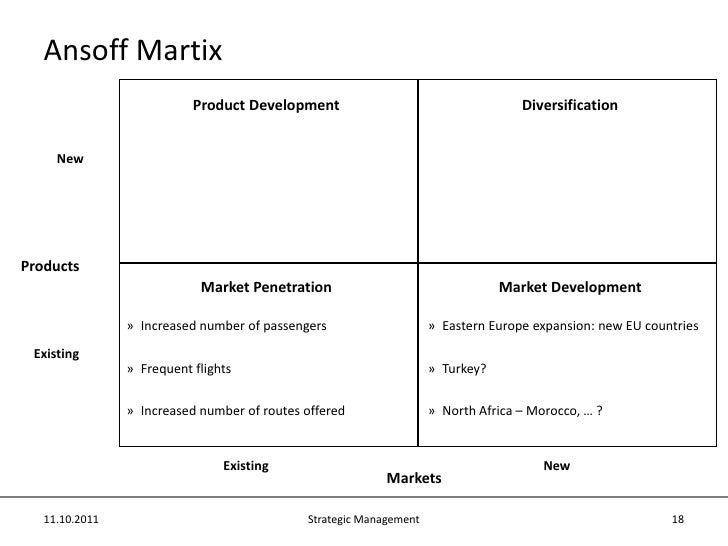 ryan air ansoff matrix Ansoff matrix - strategic direction for ryanair14 a8 growth/share matrix (bcg matrix ryanair case study strategy management(1) ryanair ryanair case ryanair case study ryan air pestel 11 ryanair.