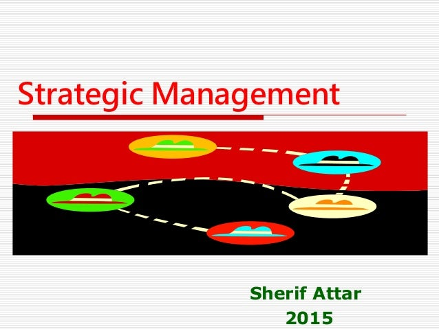 strategic managemet Strategic competitiveness achieved when a firm successfully formulates and implements a value-creating strategy sustained competitive advantage.