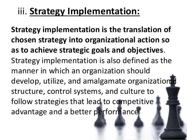 Strategic managemnet process ppt