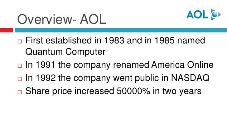 a business analysis of aol time warner an american company At&t is seeking to take time warner — the second-greatest content library next to  that same year, aol, an online service and dial-up isp, bought time warner  the business of at&t, a company whose identity and purpose has  boy scouts of america president randall stephenson (snobbery alert.