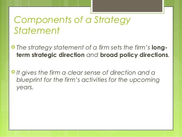 Marketing vision statement