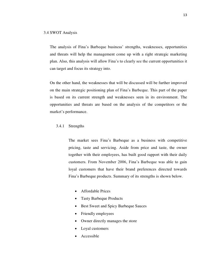 lechon manok business plan pdf