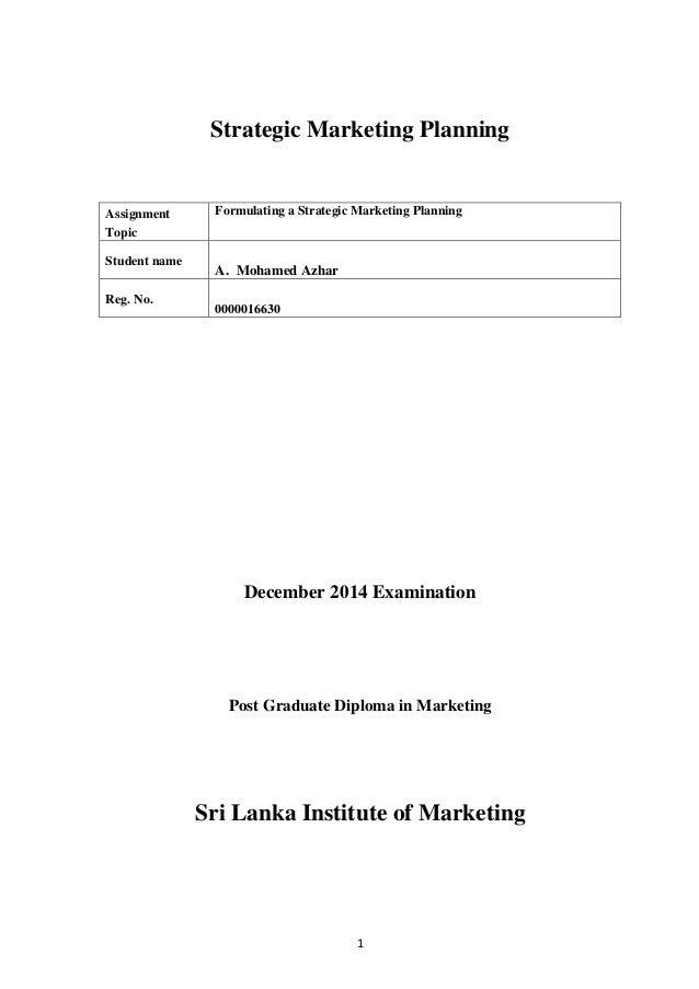 Strategic Marketing Management 7th Edition Pdf