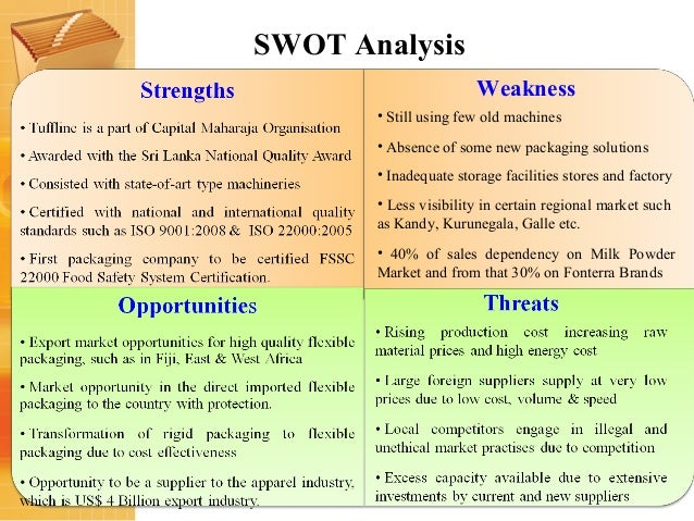 Swot analysis of the new zealand