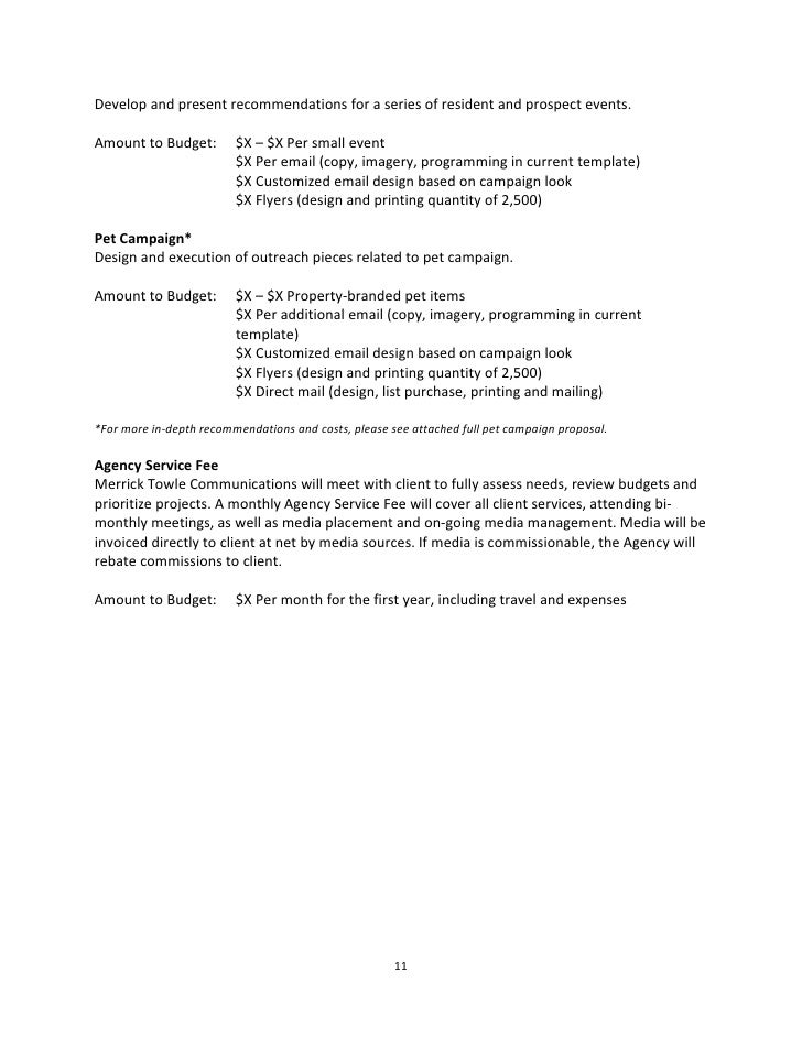 Marketing Project Proposal Template  BesikEightyCo