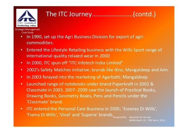 itc ltd a full case study