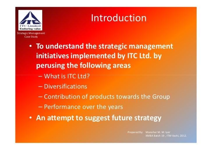 Itc strategy
