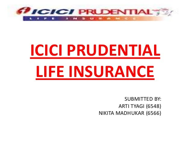 Strategic mgmt of icici prudential