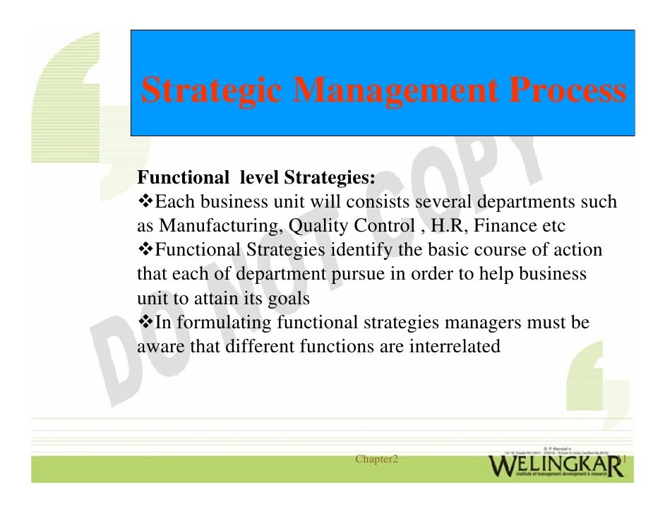 imporatance of strategic operations management Presents an introduction and overview of operations management  examples  include organizational governance and organizational strategy 2  people in  every area of business need to appreciate the importance of managing and coor.