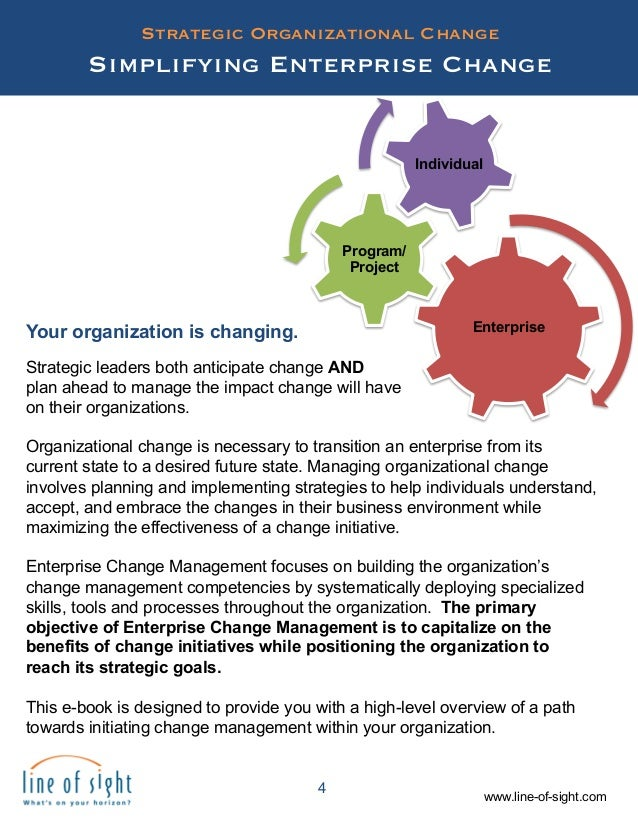 organizational change leadership from a They say that our security can only be found in our ability to adapt and he who rejects change is the designs his nemesis corporate culture has undergone radical.