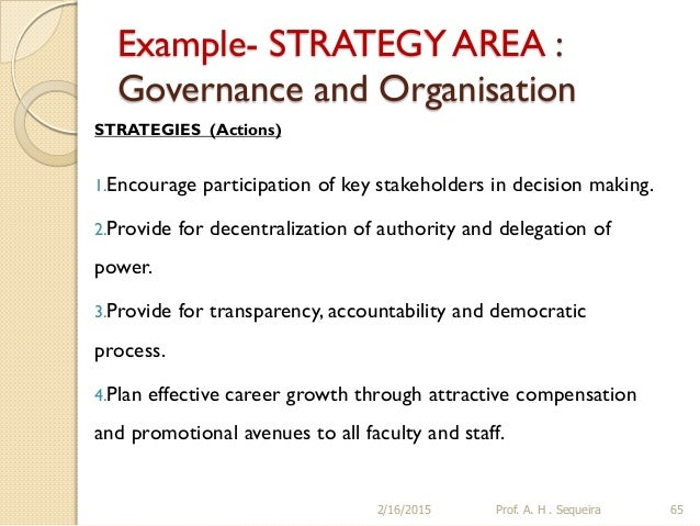 Building a STRATEGIC PLAN for an Educational Institution – Strategic Plan Example