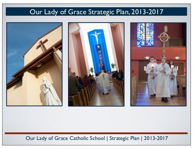 Our Lady of Grace Catholic School | Strategic Plan | 2013-2017 Our Lady of Grace Strategic Plan, 2013-2017