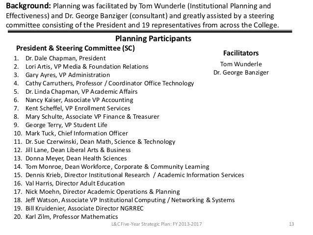Community College Strategic Plan Final Report 28
