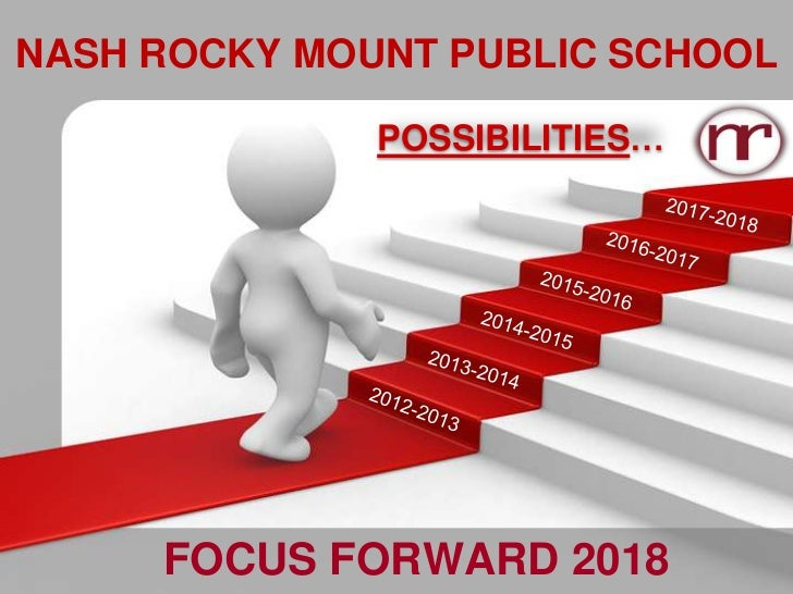 NASH ROCKY MOUNT PUBLIC SCHOOL              POSSIBILITIES…     FOCUS FORWARD 2018