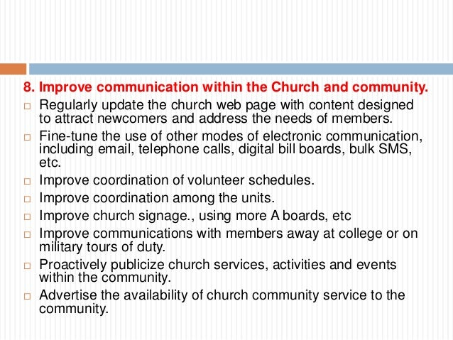strategic planning for the community church Whoa it's an amazing strategic plan (and you can participate) lawrence park community church voted, last month, to proceed with a new strategic plan so, what's next maybe, your involvement here's a summary of the plan the strategic plan has three parts we.