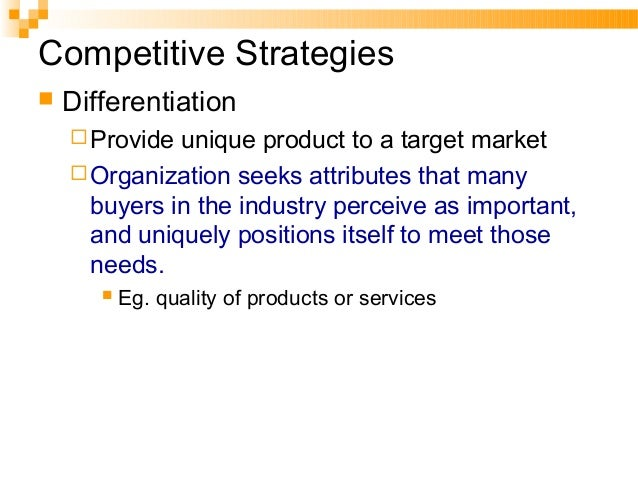 Market Penetration We market our existing products to our existing customers. This means increasing our revenue by, for ex...