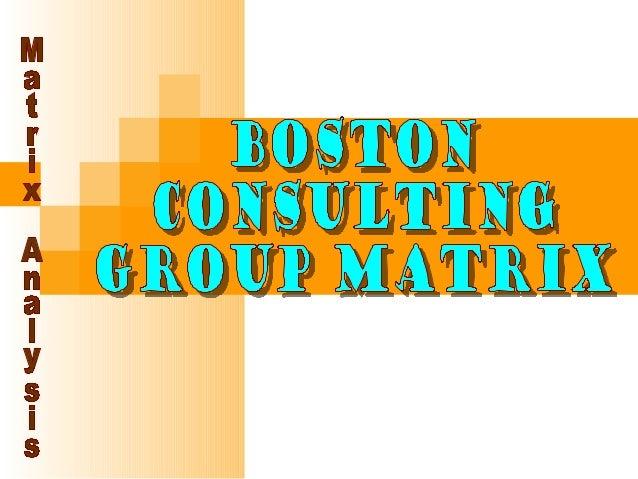 BCG Matrix • To ensure long-term value creation, aa company should have a portfolio of productscompany should have a portf...