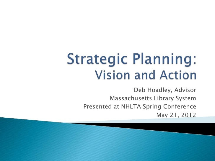 Deb Hoadley, Advisor        Massachusetts Library SystemPresented at NHLTA Spring Conference                        May 21...